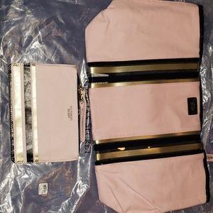 Victoria's Secret Travel Bag & Makeup Case